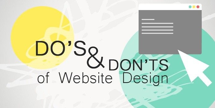 The Do's and Don'ts of Web Design